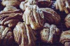 Free Closeup Photo Of Croissant Breads Stock Images - 113232294