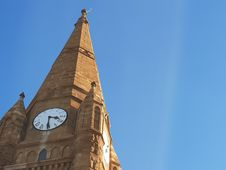 Free Photo Of Brown Clock Tower Royalty Free Stock Photo - 113232315