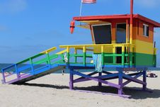 Free Beach, Vacation, House, Playground Royalty Free Stock Images - 113240709