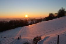 Free Sky, Winter, Snow, Sunrise Royalty Free Stock Photo - 113241895