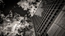 Free Sky, Black, Skyscraper, Black And White Stock Images - 113242024