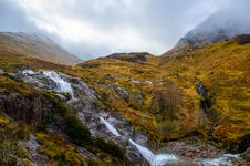 Free Clear Rivers Flowing From Mountains Stock Photography - 113295082