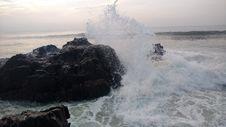 Free Sea, Wave, Coast, Wind Wave Royalty Free Stock Image - 113372516