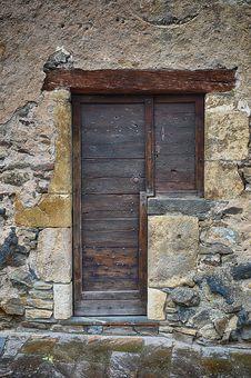 Free Wall, Stone Wall, Door, Window Stock Images - 113372784