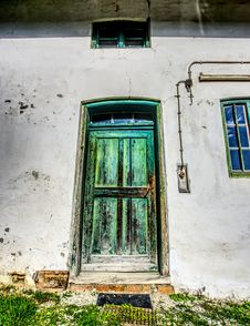 Free Green, Window, Door, Wall Stock Photos - 113372903