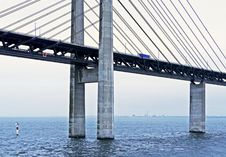 Free Bridge, Fixed Link, Cable Stayed Bridge, Extradosed Bridge Stock Images - 113373514