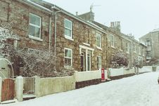 Free Photo Of Houses During Winter Stock Photography - 113416912
