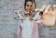 Free Selective Focus Photography Of Pink And Black Framed Eyeglasses Stock Images - 113472944