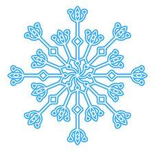 Free Snowflake Dark Blue Xmas Stock Photo - 11358800