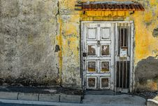 Free Yellow, Wall, Door, Window Stock Image - 113647711