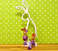 Free Easter Bunny, Wallpaper, Branch, Computer Wallpaper Royalty Free Stock Images - 113647789