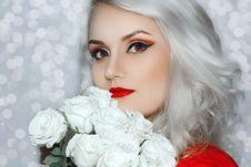 Free Eyebrow, Beauty, Human Hair Color, Lip Stock Photography - 113647972