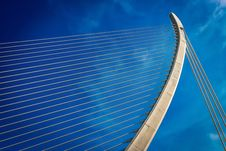 Free Cable Stayed Bridge, Blue, Sky, Landmark Royalty Free Stock Images - 113648449