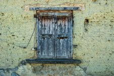 Free Wall, Window, Wood, Texture Stock Photography - 113648532