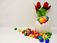 Free Easter Egg, Flower, Easter, Material Royalty Free Stock Photography - 113659337