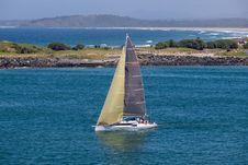 Free Waterway, Sail, Sailboat, Water Transportation Stock Photography - 113660652