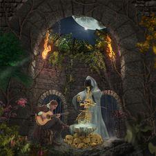 Free Mythology, Nativity Scene, Darkness, Computer Wallpaper Royalty Free Stock Photos - 113738198