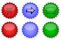 Free Website Internet Button Set Stock Photos - 11389473
