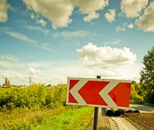 Free Detour Direction Stock Photos - 11399303
