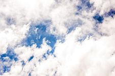 Free Blue Sky With White Clouds Screenshot Stock Photo - 113907660