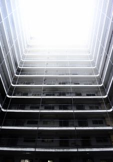 Free White Multi-story Building Stock Photography - 113907722