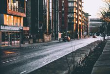 Free Photography Of Roadway Near Buildings Stock Images - 113907794