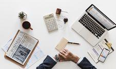 Free Work Desk Royalty Free Stock Image - 113907826