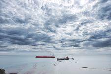 Free Photo Of Boats On Seashore Stock Photos - 113947543