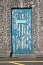Free Door Needs Painting Royalty Free Stock Photo - 1145665