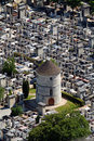 Free Tower In Cemetary Royalty Free Stock Photos - 1147048