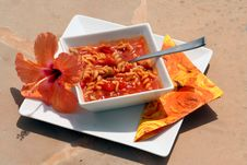 Free Italian Pasta Soup Royalty Free Stock Photography - 1140147