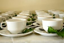 Free Cup Rows Stock Images - 1140314