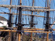 Free Tallships Mast From Two Ships Stock Photos - 1140373