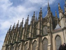 Free Gothic Cathedral Royalty Free Stock Photos - 1140798