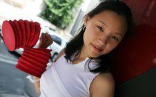 Free Pretty Korean Woman Royalty Free Stock Photo - 1141455