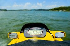 Free Personal Watercraft On Lake Stock Photos - 1141463
