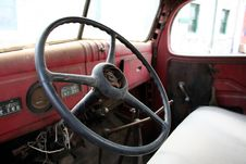 Free Old Car Interior Stock Photos - 1141473