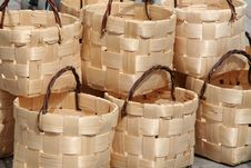 Free Baskets Royalty Free Stock Photo - 1141955