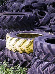 Free Yellow Tire Stock Images - 1141984