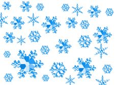Free Snow Texture Royalty Free Stock Image - 1142826