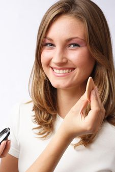 Free Makeup Preparations Royalty Free Stock Photography - 1142857