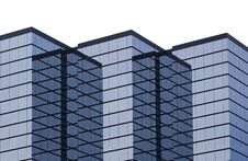 Top Of Modern Hi-rise Royalty Free Stock Photography