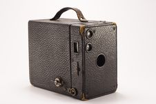 Free Old Box Camera Royalty Free Stock Photos - 1143308
