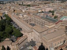 Free Vatican Bird S Eye View Royalty Free Stock Image - 1144066