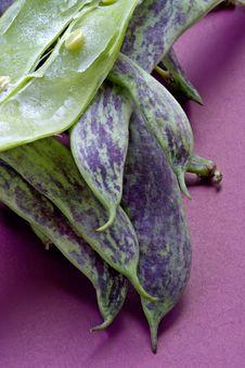 Free Big Green Bean-pods Stock Photo - 1144970