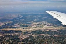 Free St. Louis Airport From The Air Stock Image - 1145811