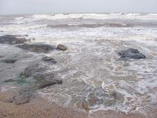 Free Rocky Beach Royalty Free Stock Image - 1146206
