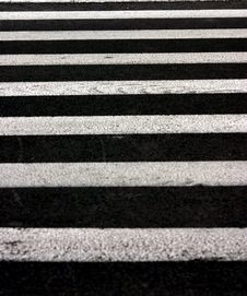 Free Crosswalk Texture Royalty Free Stock Photo - 1146865