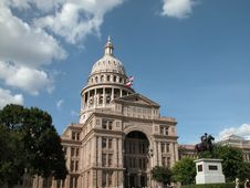State Of Texas Capitol Stock Photos