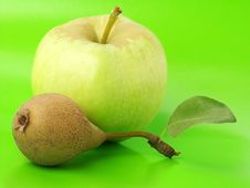 Free Apple & Pear Royalty Free Stock Images - 1148059